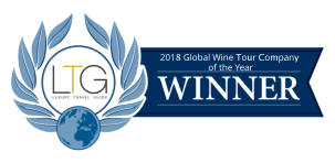 2018 Global Wine Tour Company of the Year logo